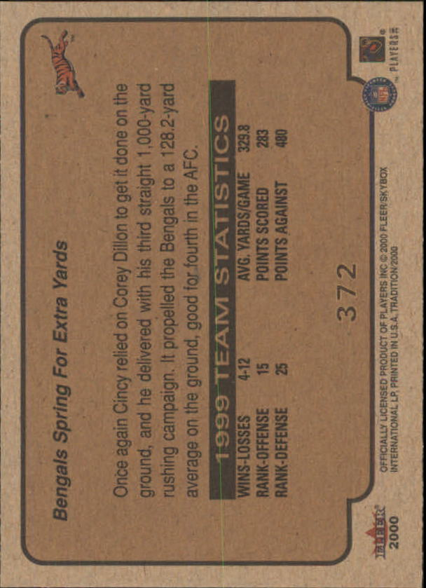 thumbnail 205 - A7983- 2000 Fleer Tradition FB #s 251-400 +Inserts -You Pick- 10+ FREE US SHIP