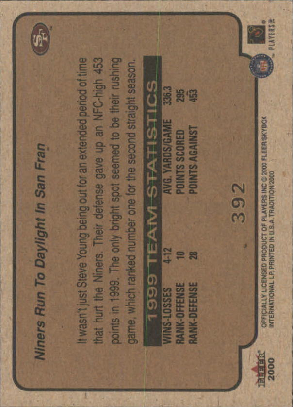 thumbnail 233 - A7983- 2000 Fleer Tradition FB #s 251-400 +Inserts -You Pick- 10+ FREE US SHIP
