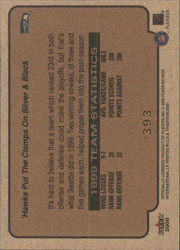 thumbnail 235 - A7983- 2000 Fleer Tradition FB #s 251-400 +Inserts -You Pick- 10+ FREE US SHIP