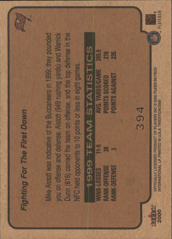 thumbnail 237 - A7983- 2000 Fleer Tradition FB #s 251-400 +Inserts -You Pick- 10+ FREE US SHIP