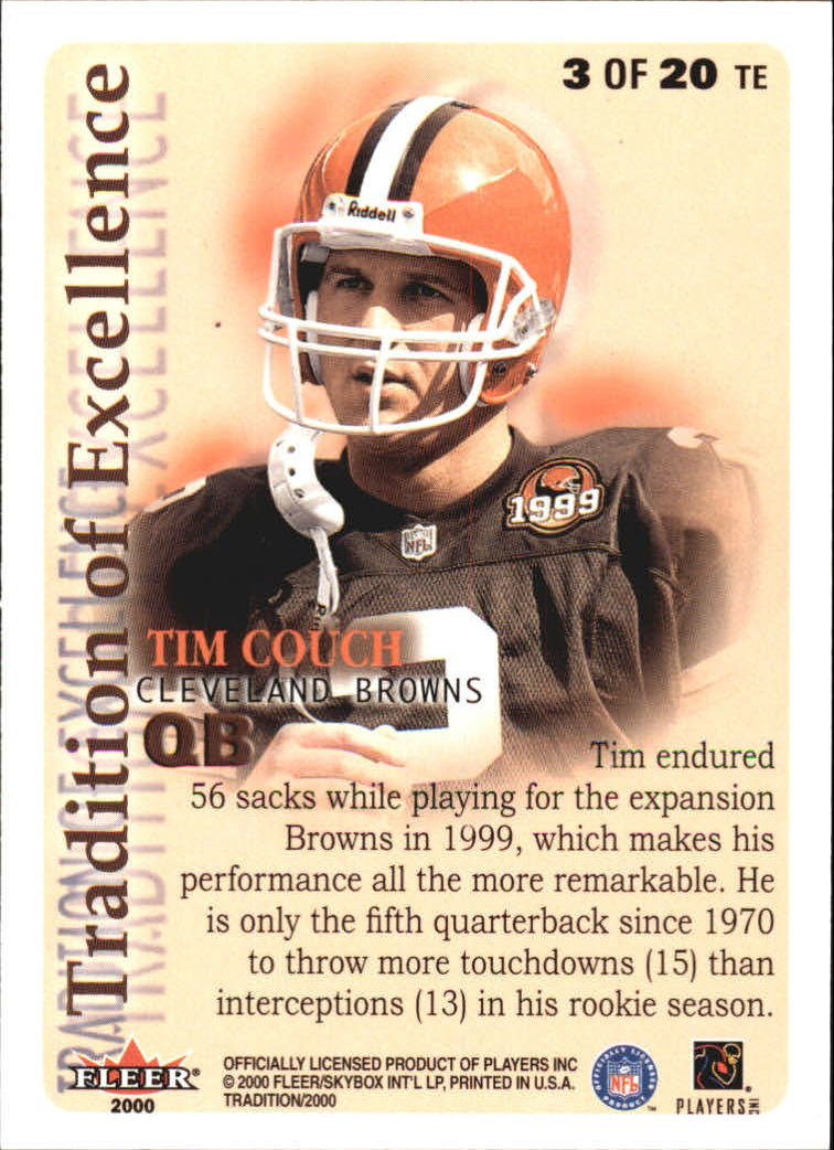 thumbnail 273 - A7983- 2000 Fleer Tradition FB #s 251-400 +Inserts -You Pick- 10+ FREE US SHIP