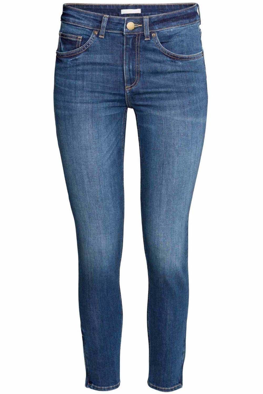 damen ex zara skinny jeans damen enge passform verblichen. Black Bedroom Furniture Sets. Home Design Ideas