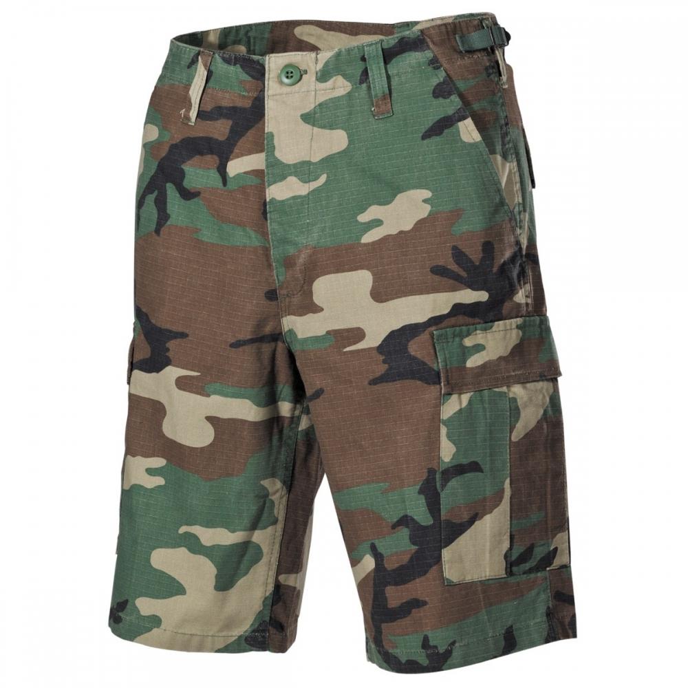 EEUU-BDU-Bermudas-Ejercito-Pantalon-Corto-Algodon-Camuflaje-Bundeswehr-Lona