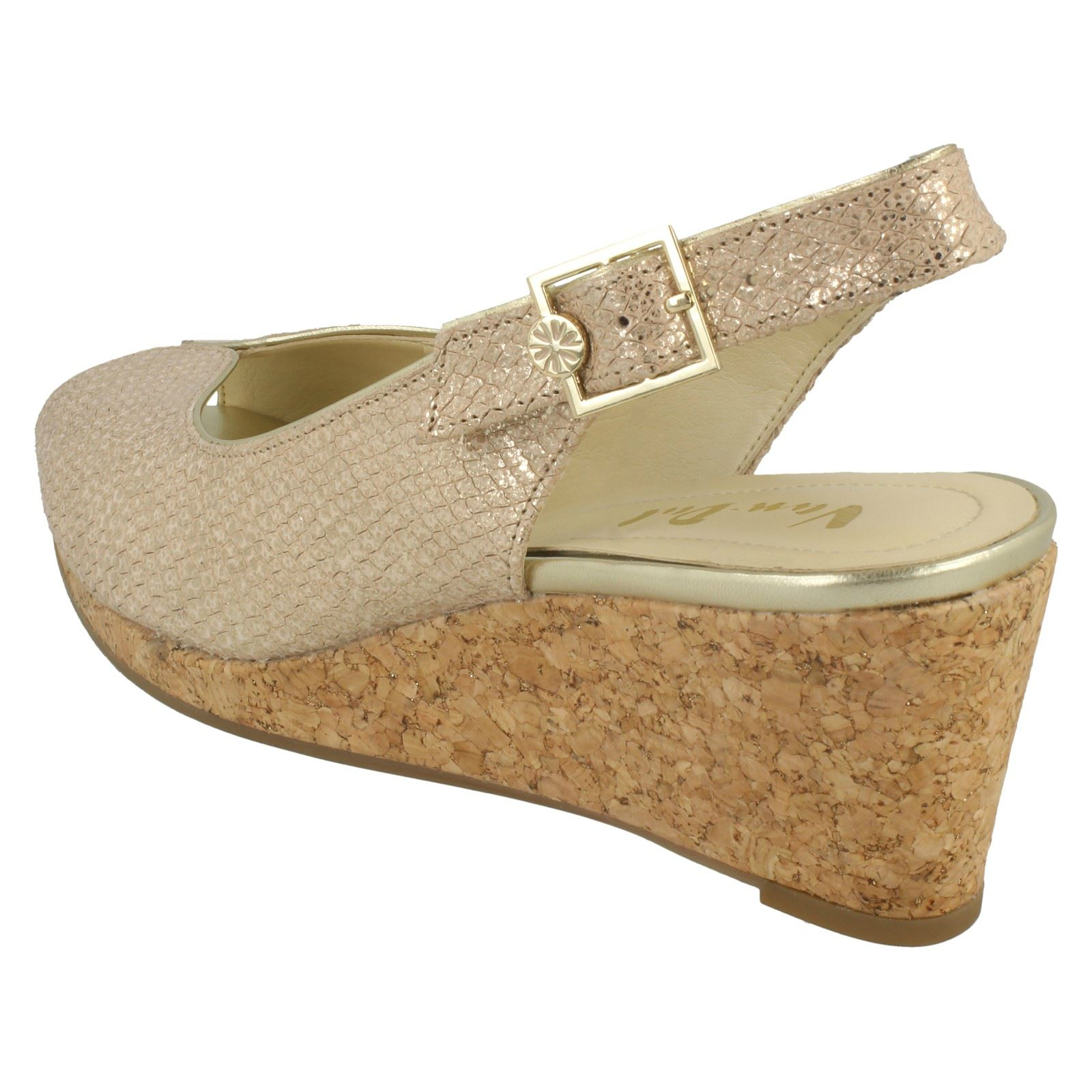 Ladies-Van-Dal-Cork-Wedge-Sandals-039-Gable-039 thumbnail 3