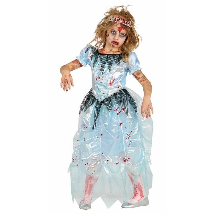 nina-Zombie-Ice-Princesa-Halloween-Frozen-Disfraz
