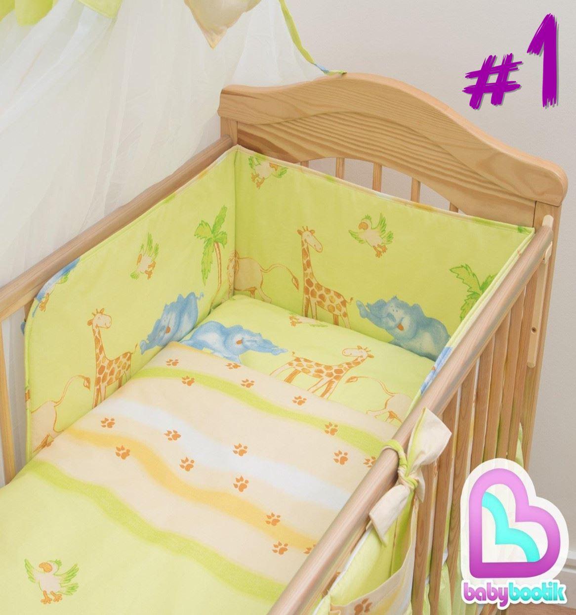 5 st ck baby kinderzimmer kinderbett bettw sche set kissen bettbezug nestchen ebay - Kinderzimmer set baby ...