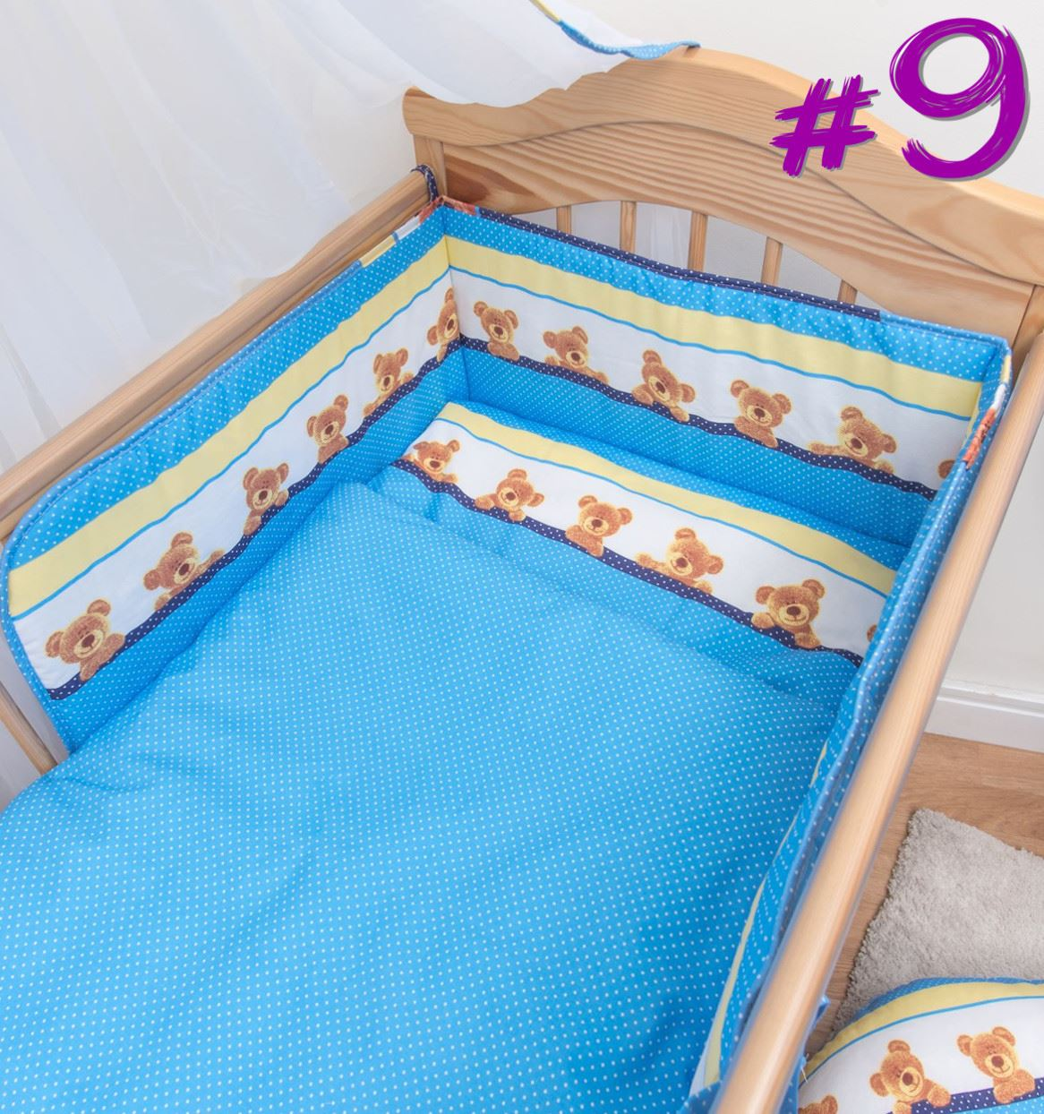 5 st ck baby kinderzimmer kinderbett bettw sche set kissen - Kinderbett set ...