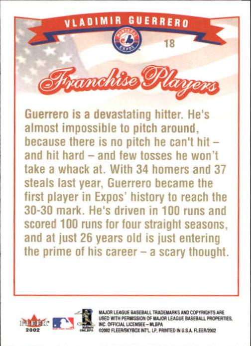 2002-Fleer-Oro-Espaldas-Beisbol-Tarjeta-Recoger miniatura 5