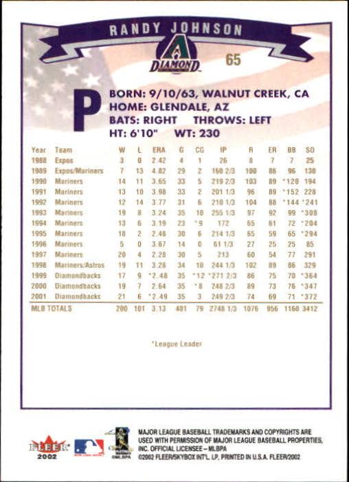 2002-Fleer-Oro-Espaldas-Beisbol-Tarjeta-Recoger miniatura 41