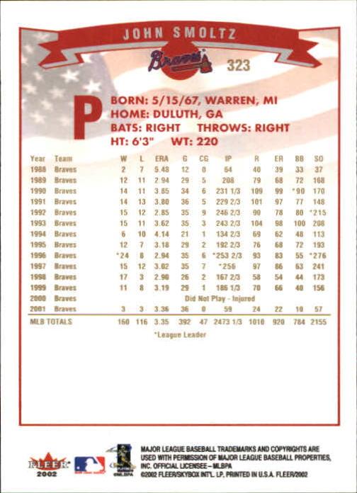 2002-Fleer-Oro-Espaldas-Beisbol-Tarjeta-Recoger miniatura 211