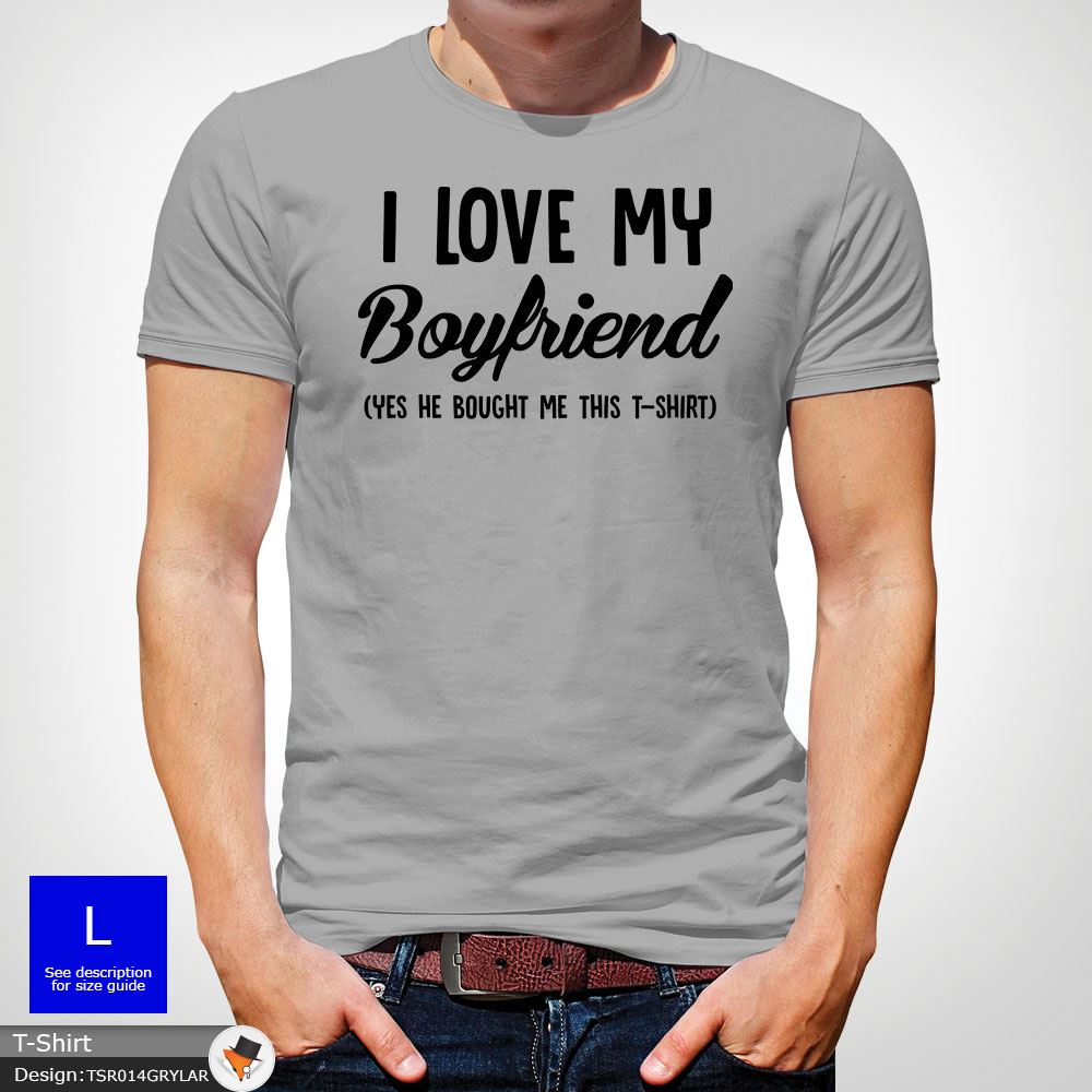486b8632 I LOVE MY BOYFRIEND Heart Tumblr T-shirt Vest Tank Top Men Gay mens ...