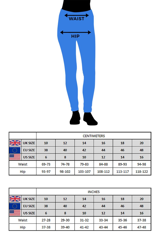 thumbnail 27 - Roman Originals Donna Jeans Jegging IN Nero Taglie 10 - 22