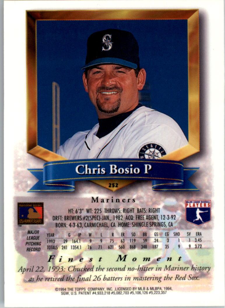 1994-Mejores-Beisbol-Tarjeta-Recoger miniatura 3