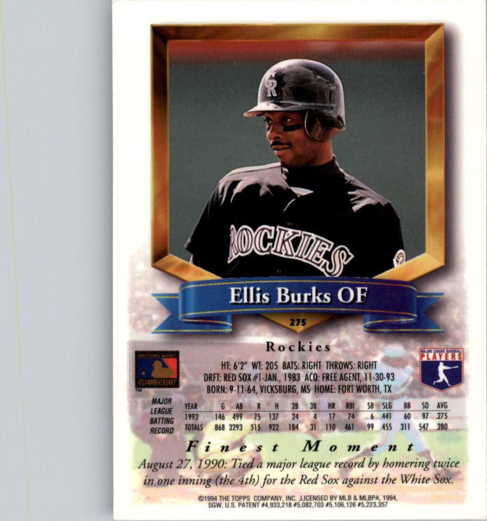 1994-Mejores-Beisbol-Tarjeta-Recoger miniatura 43