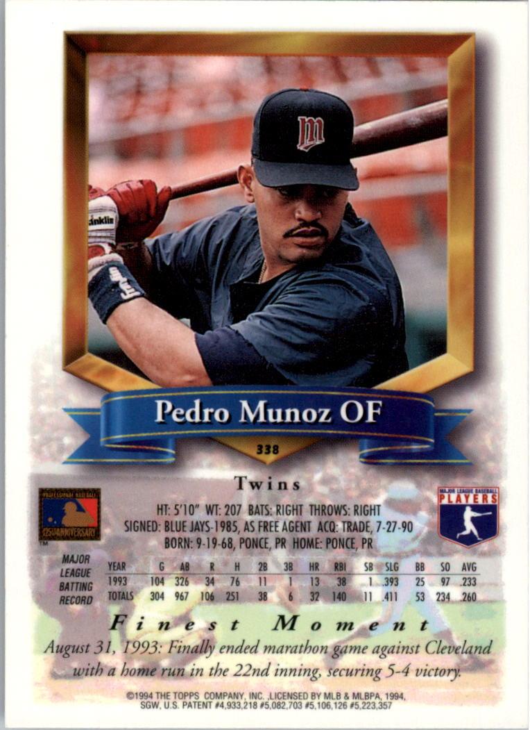 1994-Mejores-Beisbol-Tarjeta-Recoger miniatura 159