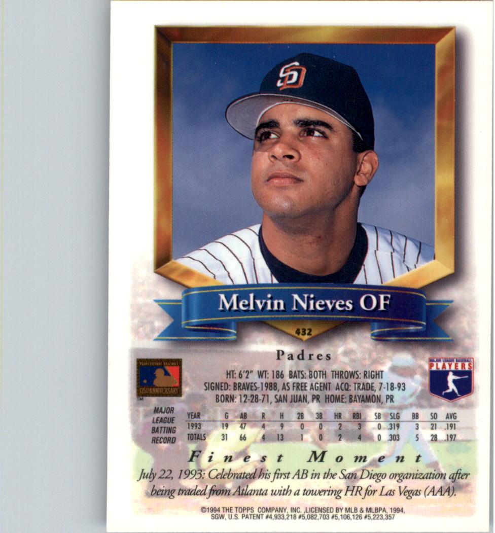1994-Mejores-Beisbol-Tarjeta-Recoger miniatura 311