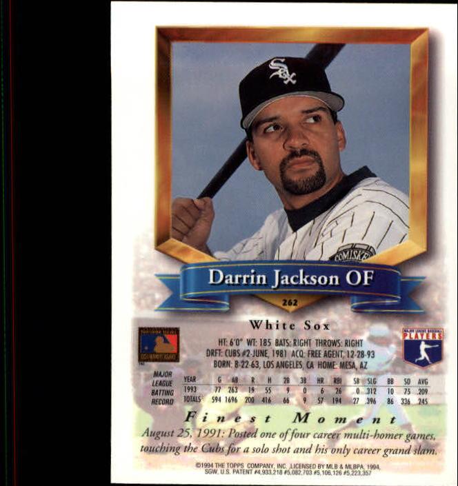 1994-Mejores-Beisbol-Tarjeta-Recoger miniatura 19