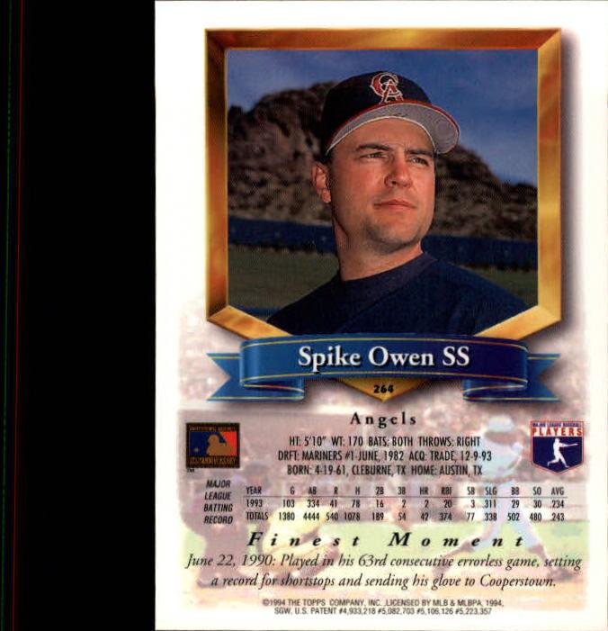 1994-Mejores-Beisbol-Tarjeta-Recoger miniatura 23
