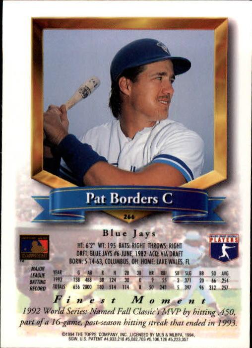 1994-Mejores-Beisbol-Tarjeta-Recoger miniatura 27
