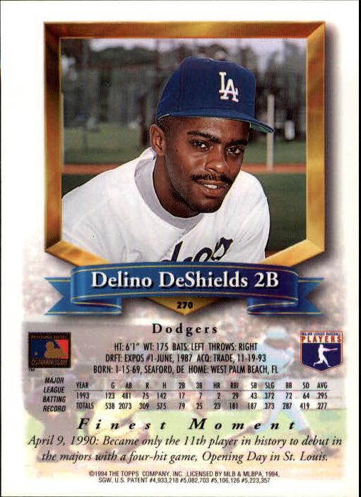 1994-Mejores-Beisbol-Tarjeta-Recoger miniatura 33