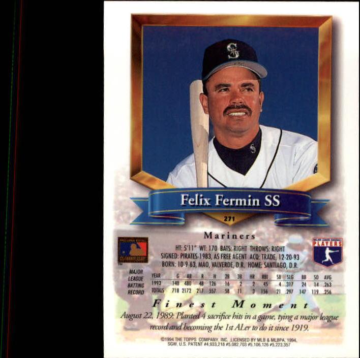 1994-Mejores-Beisbol-Tarjeta-Recoger miniatura 35