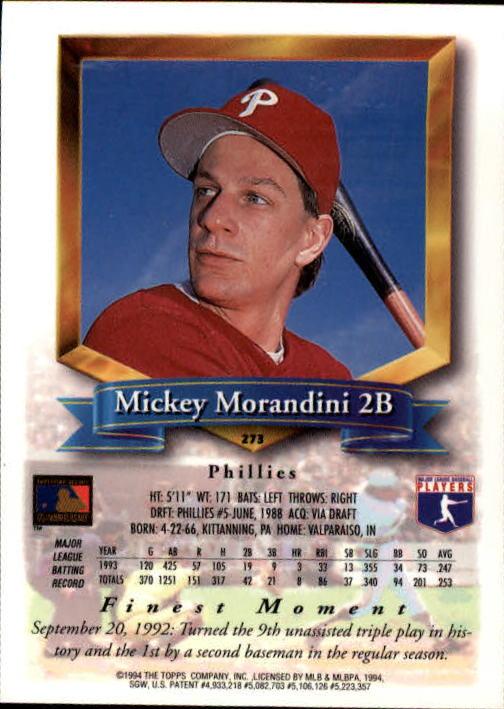 1994-Mejores-Beisbol-Tarjeta-Recoger miniatura 39