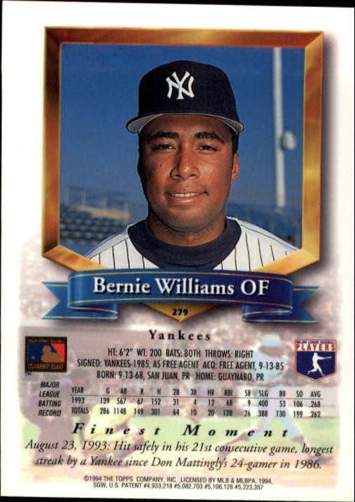 1994-Mejores-Beisbol-Tarjeta-Recoger miniatura 49
