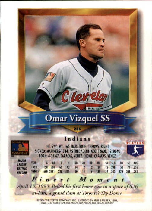1994-Mejores-Beisbol-Tarjeta-Recoger miniatura 59