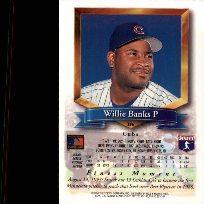 1994-Mejores-Beisbol-Tarjeta-Recoger miniatura 61