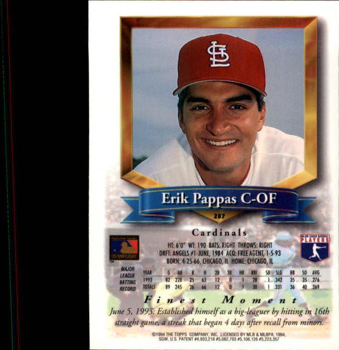 1994-Mejores-Beisbol-Tarjeta-Recoger miniatura 63