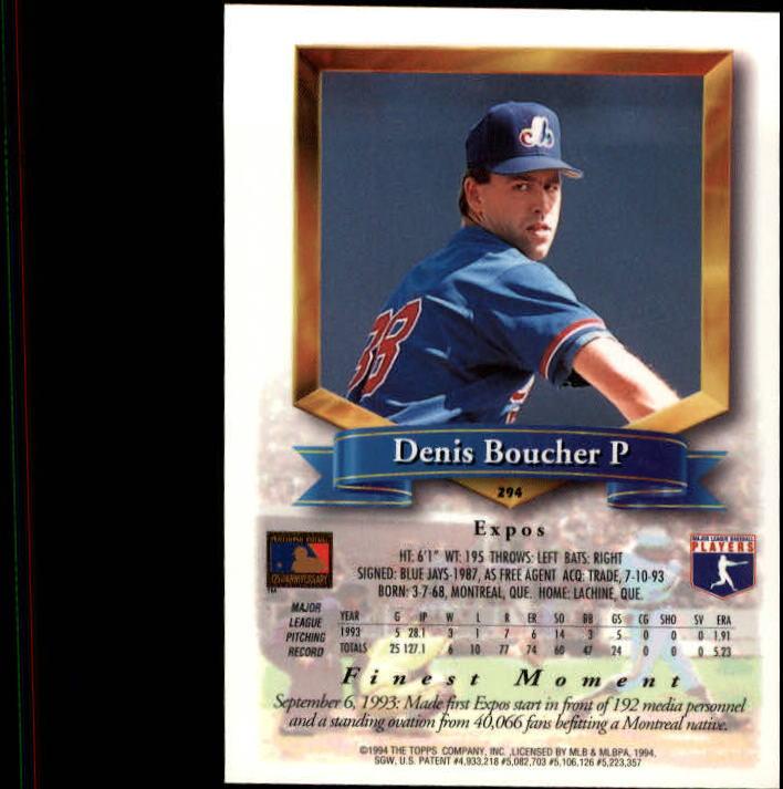 1994-Mejores-Beisbol-Tarjeta-Recoger miniatura 75