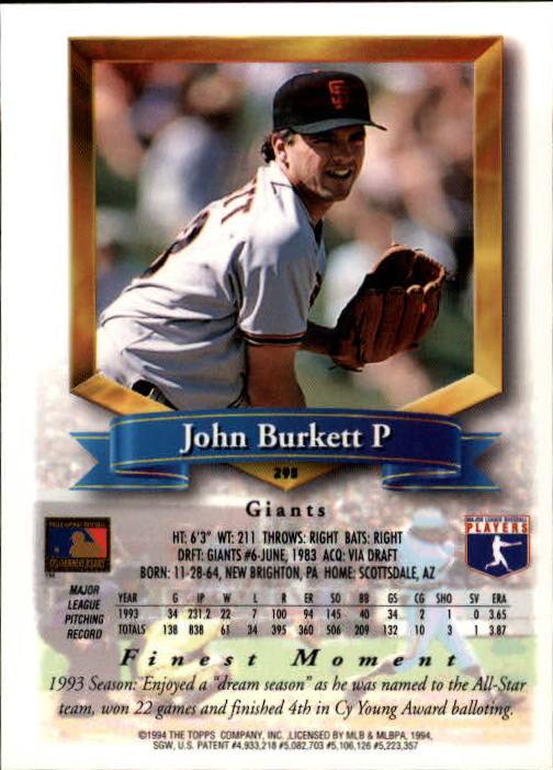 1994-Mejores-Beisbol-Tarjeta-Recoger miniatura 77