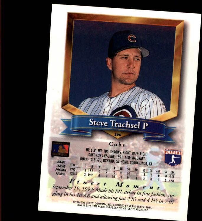 1994-Mejores-Beisbol-Tarjeta-Recoger miniatura 79