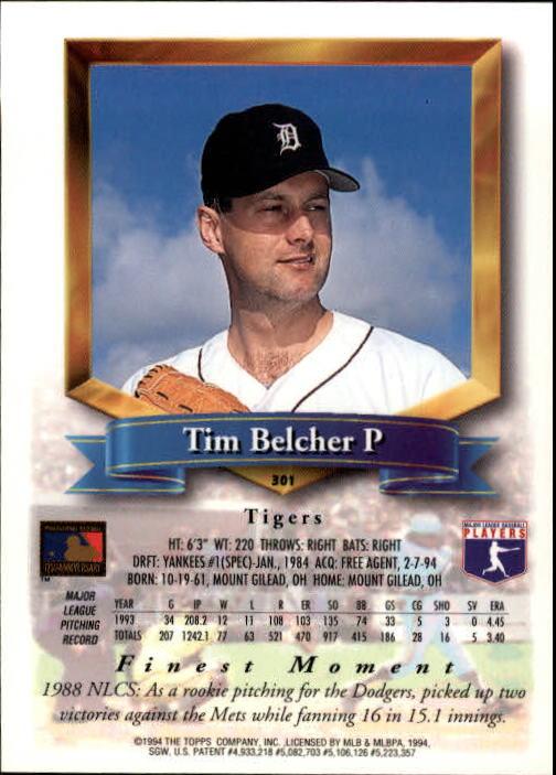 1994-Mejores-Beisbol-Tarjeta-Recoger miniatura 89