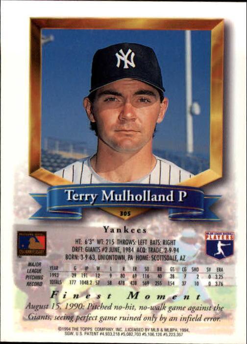 1994-Mejores-Beisbol-Tarjeta-Recoger miniatura 95