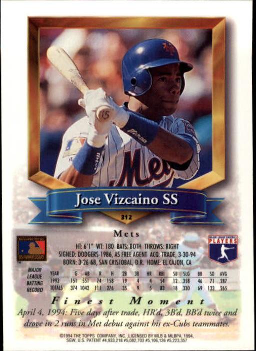 1994-Mejores-Beisbol-Tarjeta-Recoger miniatura 107