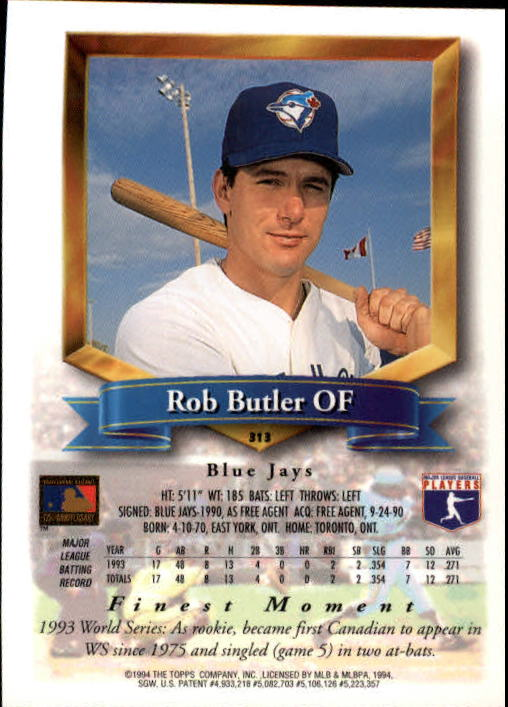1994-Mejores-Beisbol-Tarjeta-Recoger miniatura 109
