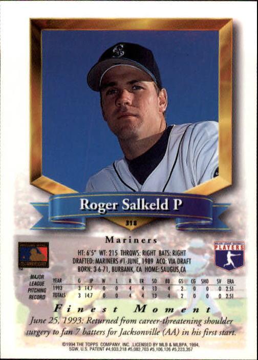 1994-Mejores-Beisbol-Tarjeta-Recoger miniatura 119