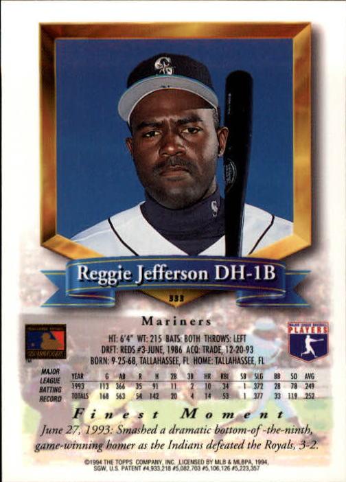 1994-Mejores-Beisbol-Tarjeta-Recoger miniatura 149