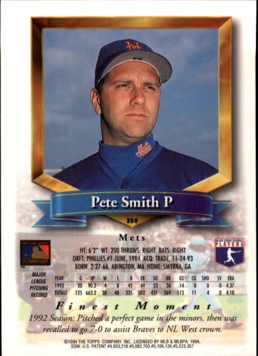 1994-Mejores-Beisbol-Tarjeta-Recoger miniatura 183