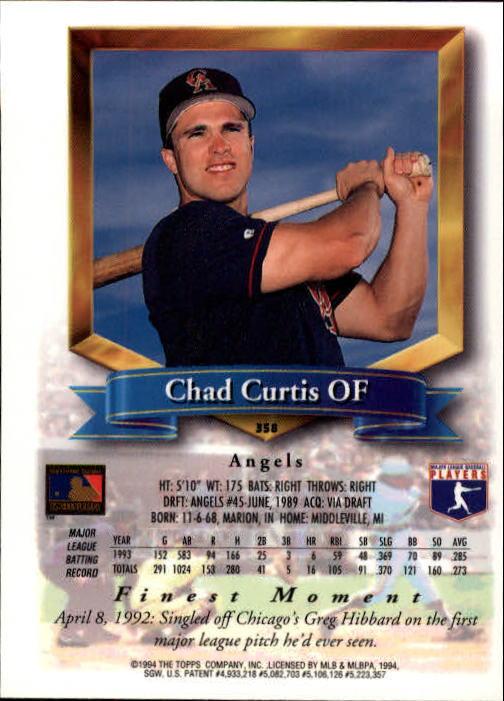 1994-Mejores-Beisbol-Tarjeta-Recoger miniatura 199