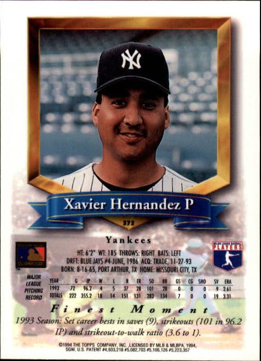 1994-Mejores-Beisbol-Tarjeta-Recoger miniatura 221