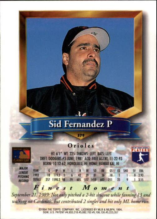 1994-Mejores-Beisbol-Tarjeta-Recoger miniatura 229