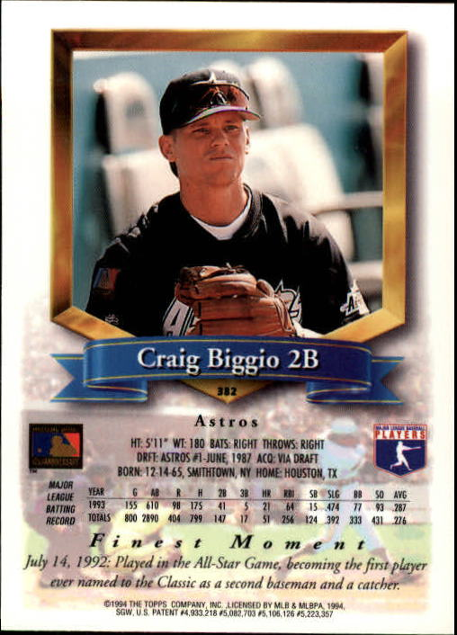 1994-Mejores-Beisbol-Tarjeta-Recoger miniatura 235