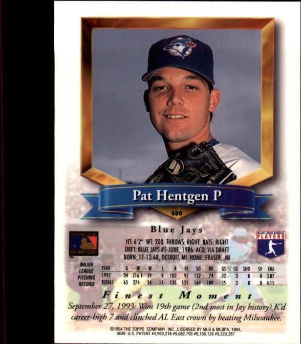 1994-Mejores-Beisbol-Tarjeta-Recoger miniatura 269