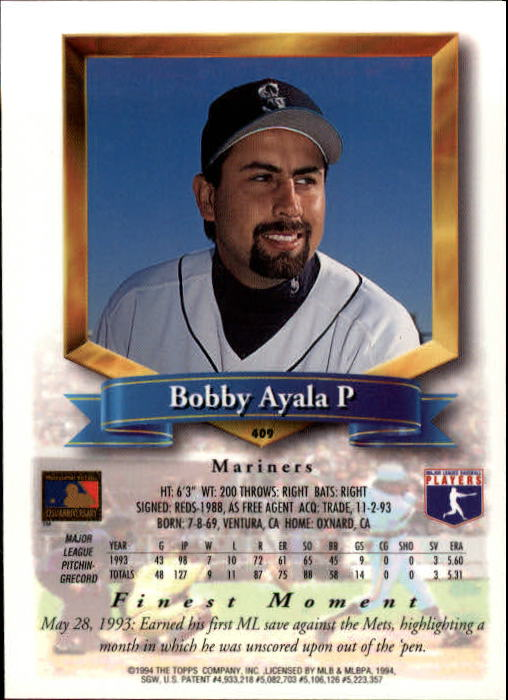 1994-Mejores-Beisbol-Tarjeta-Recoger miniatura 279