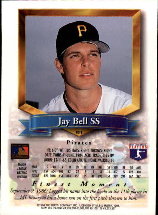 1994-Mejores-Beisbol-Tarjeta-Recoger miniatura 283