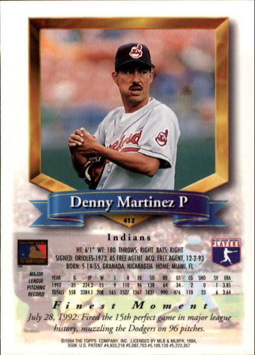 1994-Mejores-Beisbol-Tarjeta-Recoger miniatura 285