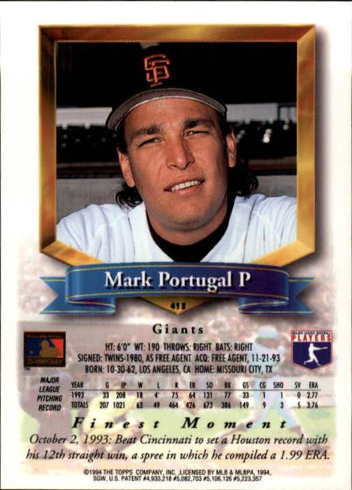 1994-Mejores-Beisbol-Tarjeta-Recoger miniatura 287