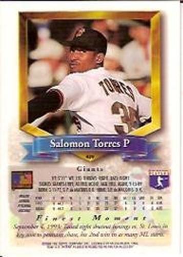 1994-Mejores-Beisbol-Tarjeta-Recoger miniatura 319